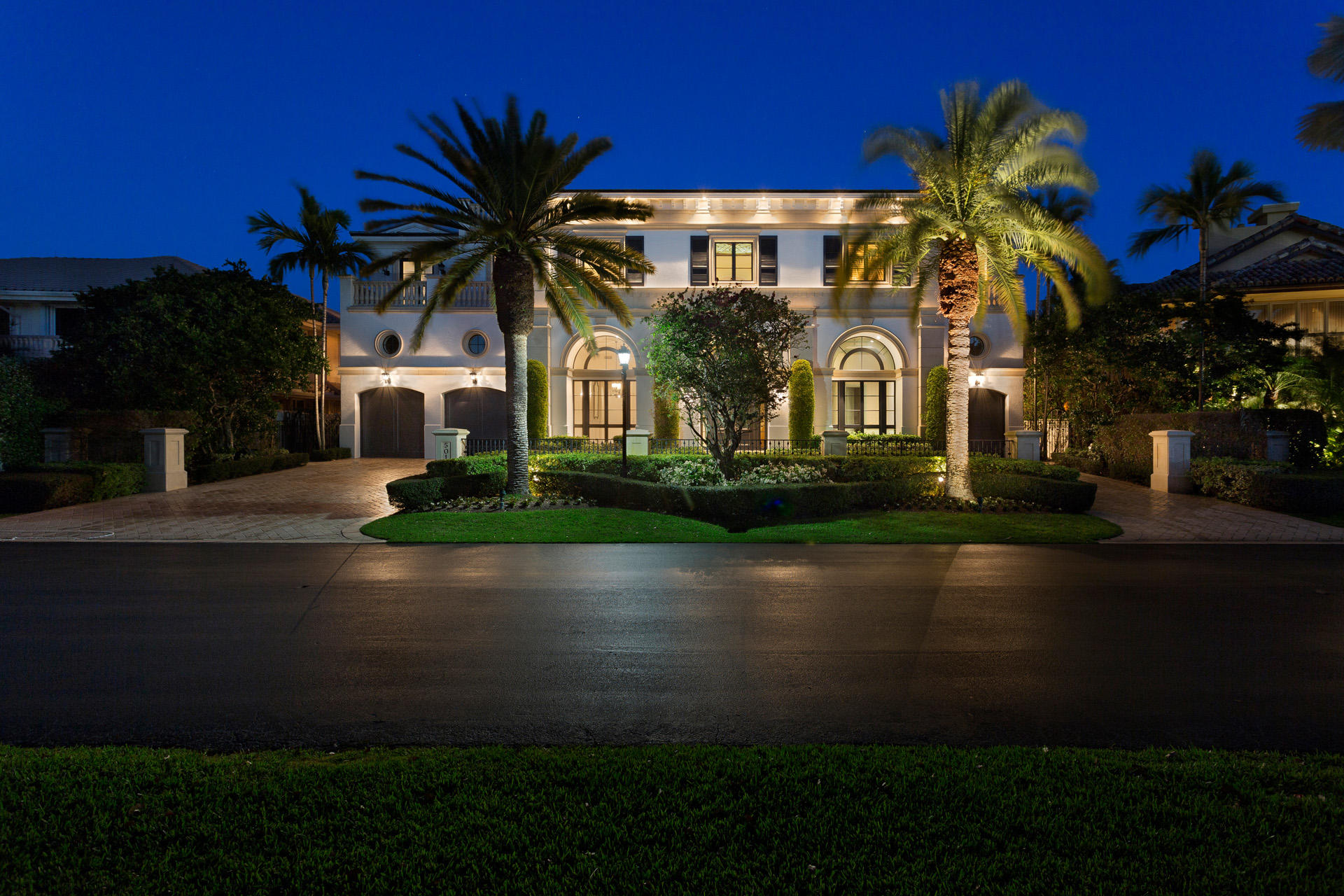 Photo of home for sale at 5014 Sanctuary Lane, Boca Raton FL