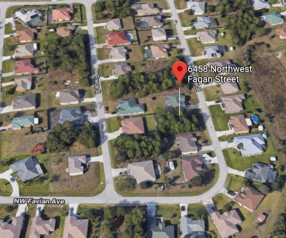 6458 NW Fagan Street, Port Saint Lucie, Florida