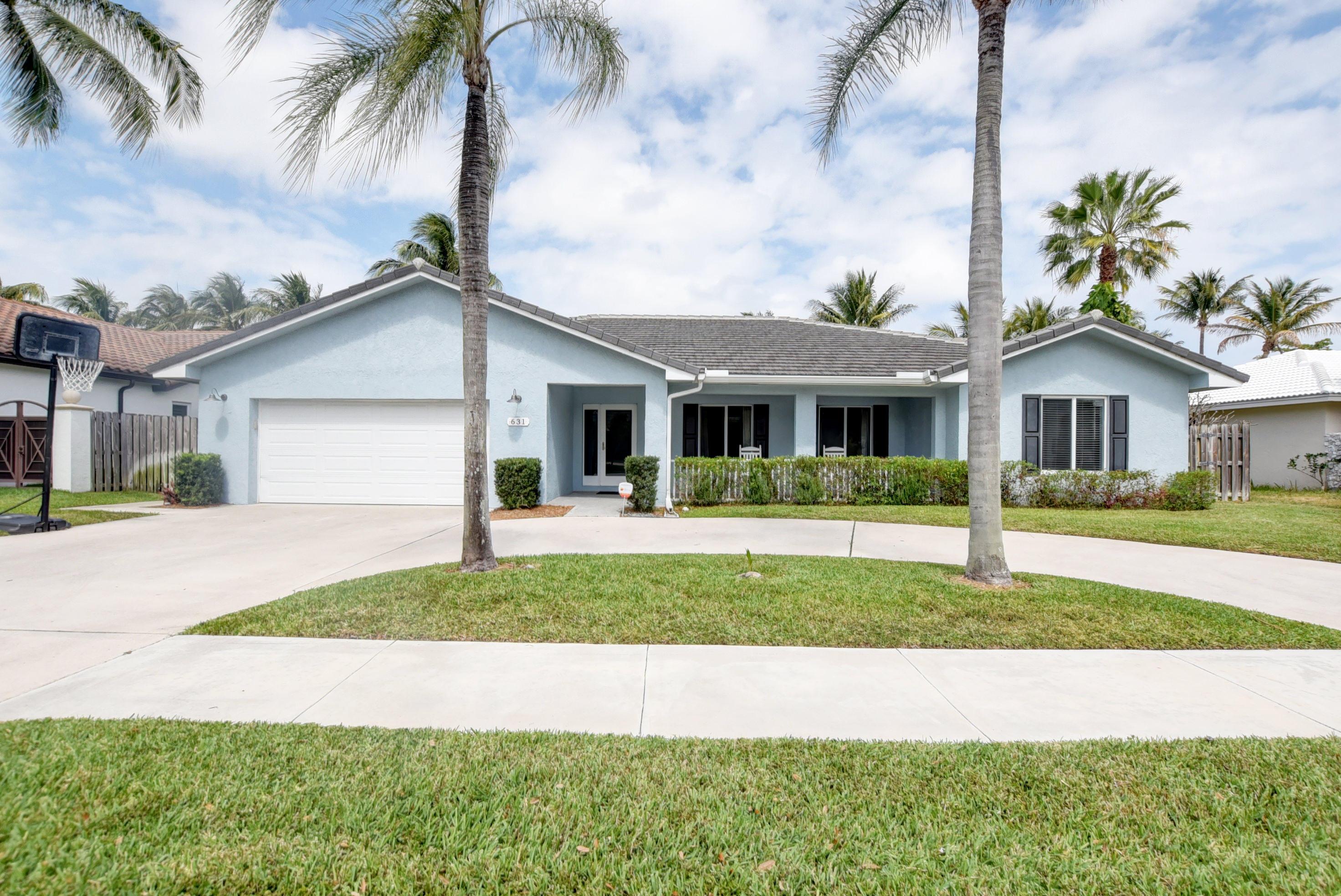 631 SW 17th Street  Boca Raton FL 33486