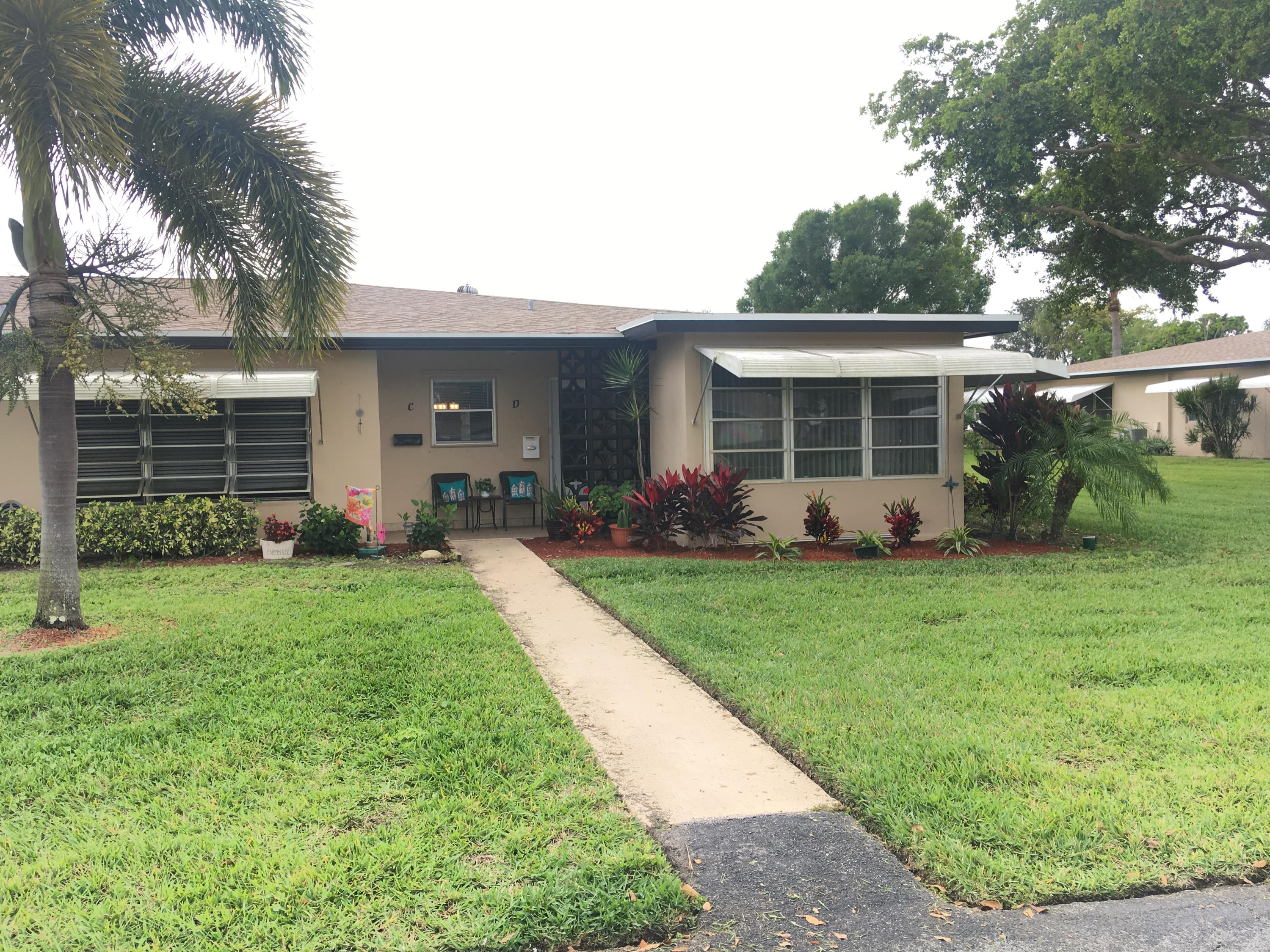 1000 E Circle Terrace D  Delray Beach, FL 33445