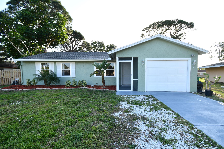 2232 Holland Street, Port Saint Lucie, Florida 34952, 3 Bedrooms Bedrooms, ,2 BathroomsBathrooms,A,Single family,Holland,RX-10513464
