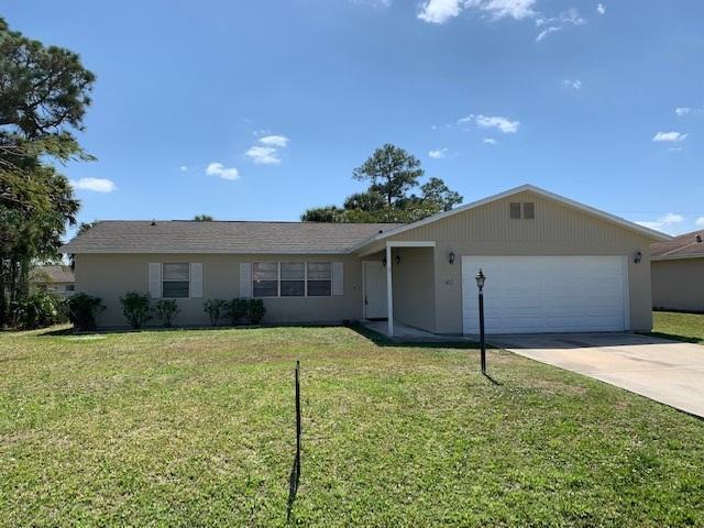422 NW Cornell Avenue, Port Saint Lucie, Florida