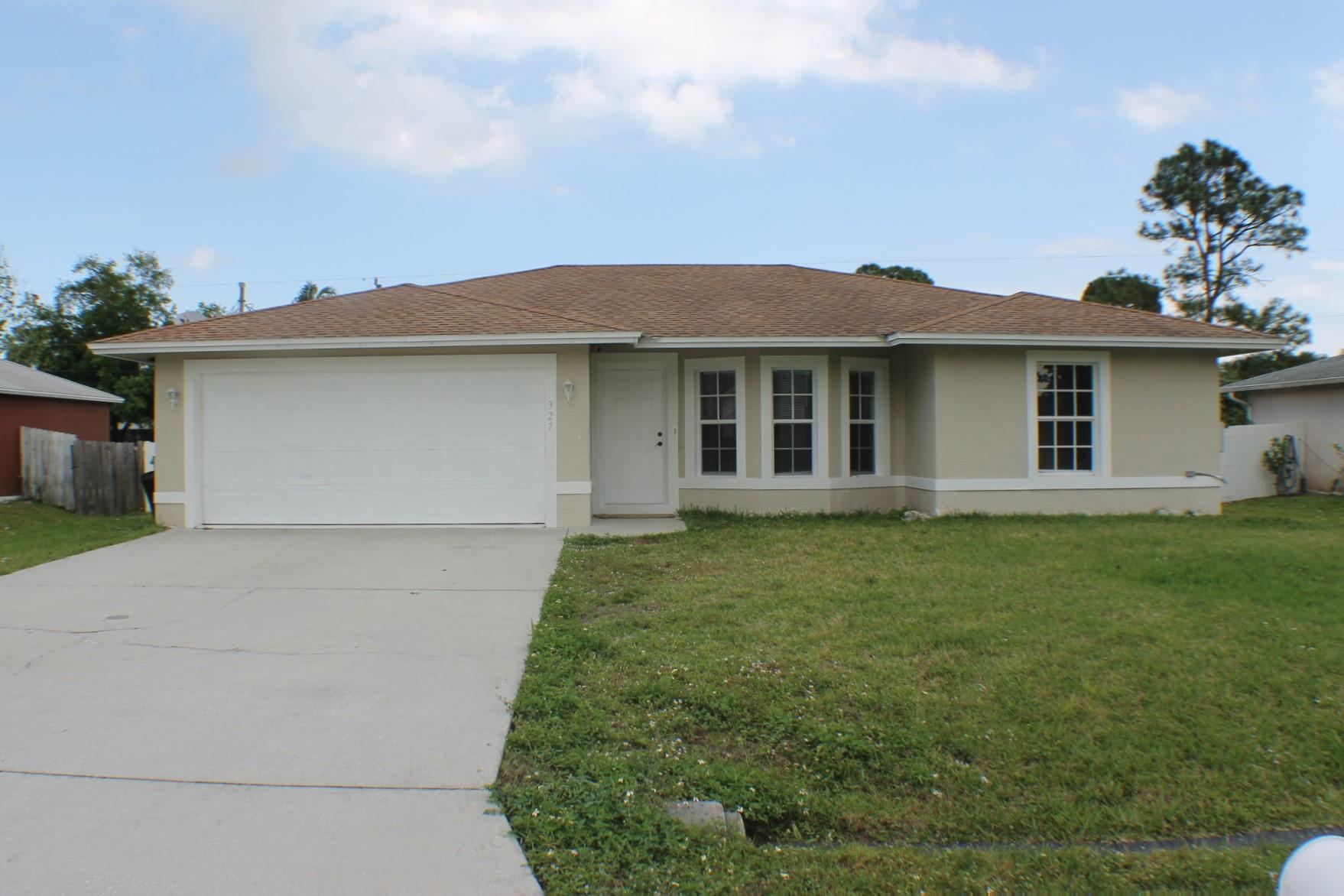 327 NW Byron Street, Port Saint Lucie, Florida