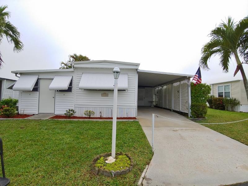 JAMAICA BAY MOBILE HOME CO OP home 55020 Barbados Bay Boynton Beach FL 33436