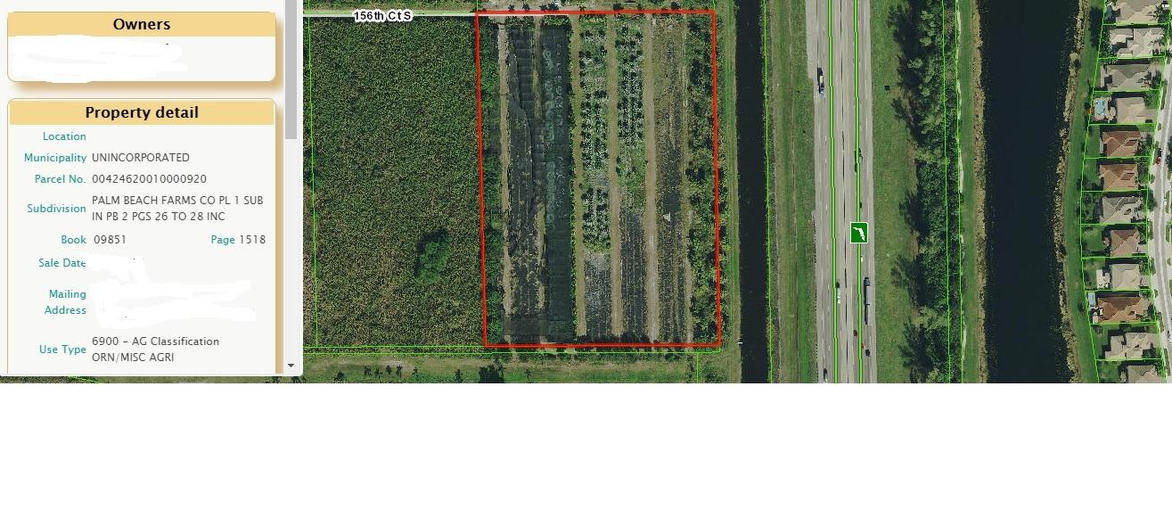 000 Vacant Lot  Delray Beach FL 33446