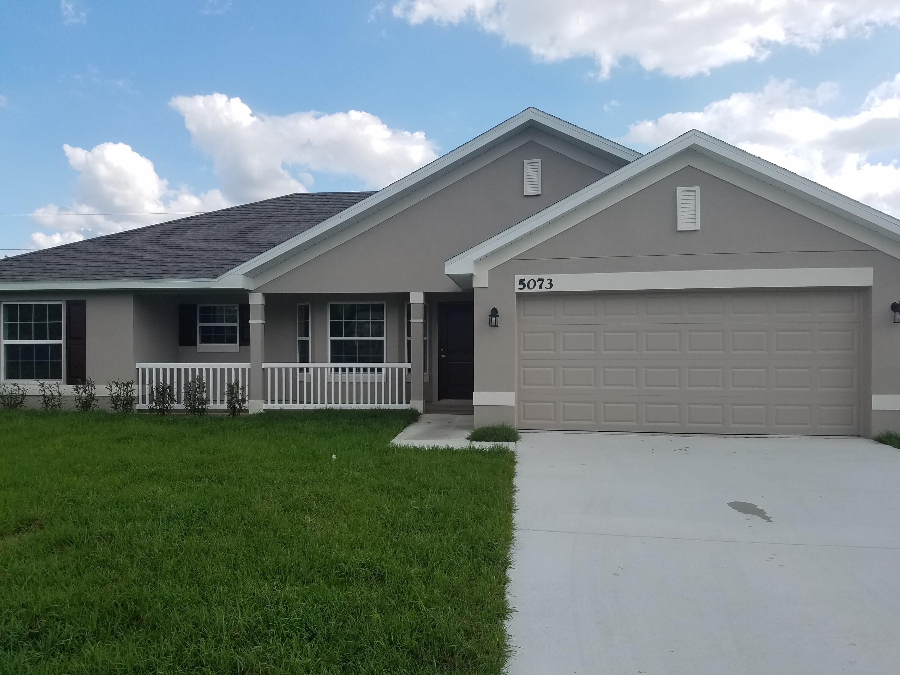 Photo of home for sale at 5073 Fitzgerald Avenue NW, Port Saint Lucie FL