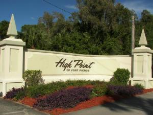 High Point Of Ft Pierce Condominium Sect