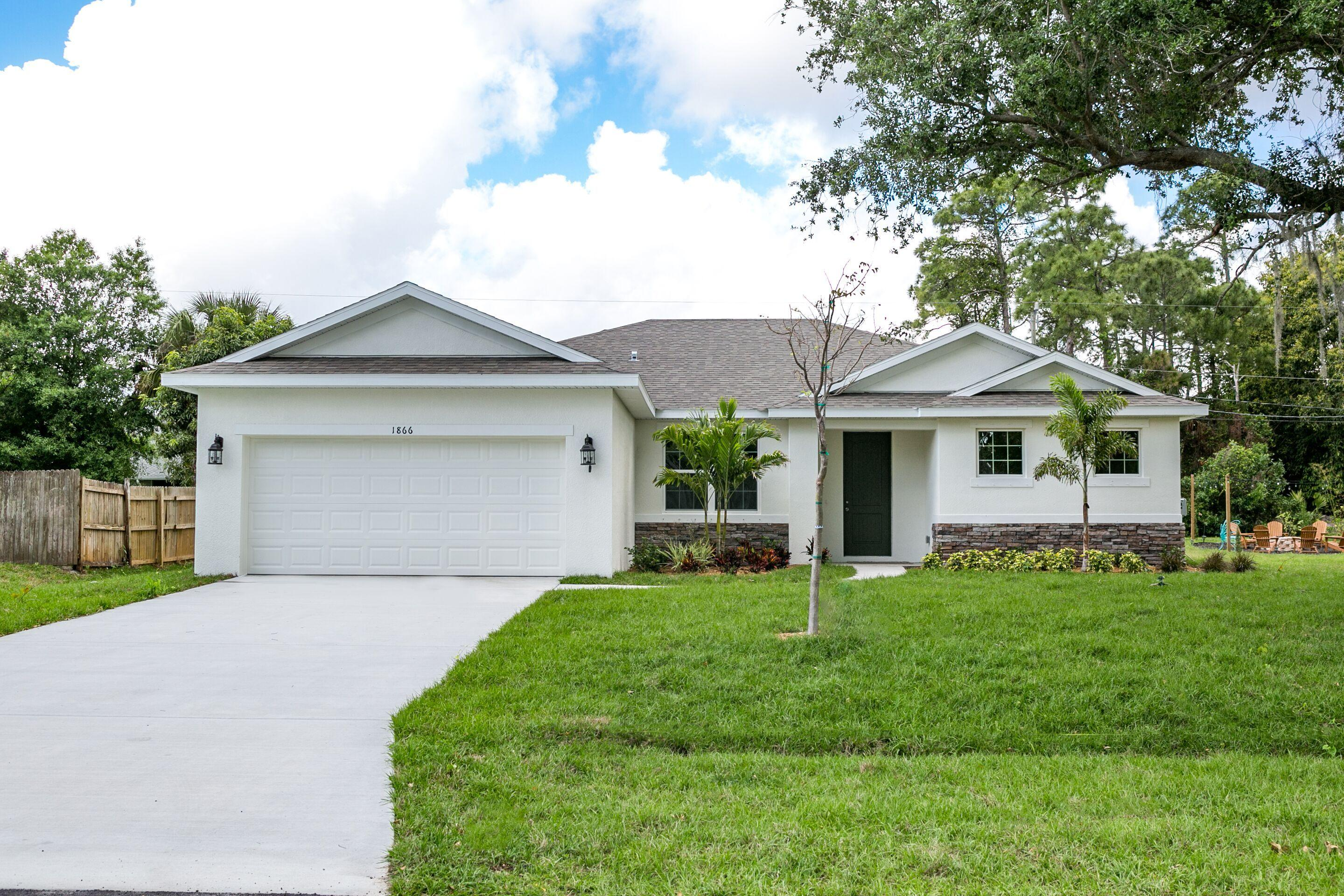 1866 SW Agnes Street 34953 - One of Port Saint Lucie Homes for Sale