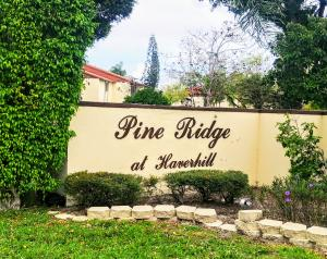 Pine Ridge At Haverhill Condo