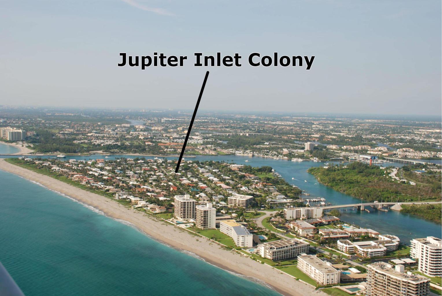 JUPITER INLET COLONY REAL ESTATE