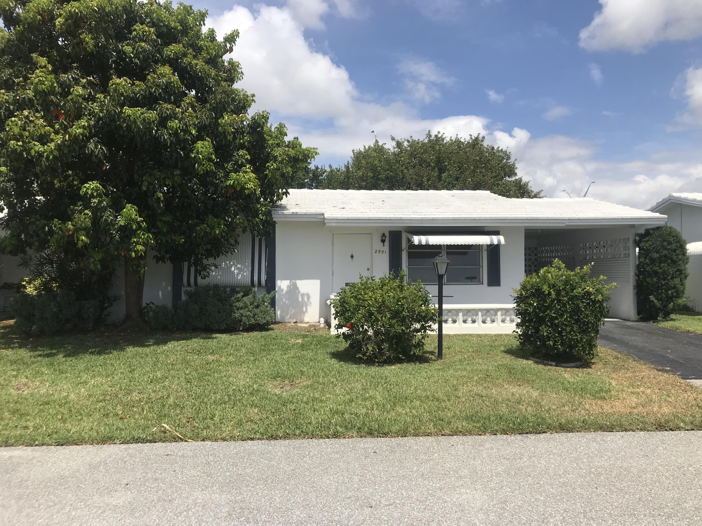Home for sale in LEISUREVILLE 4TH SEC Pompano Beach Florida