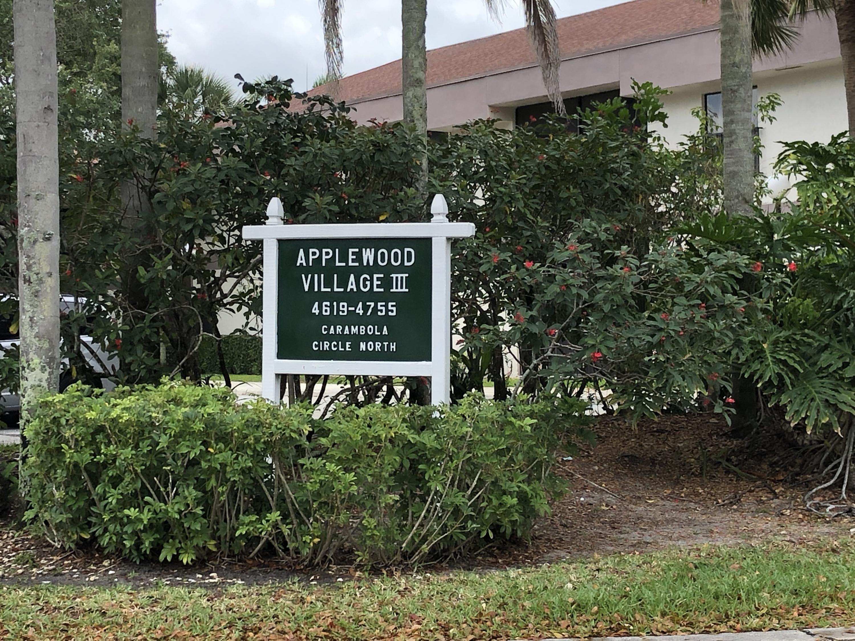 APPLEWOOD VILLAGE 3-A CONDO COCONUT CREEK