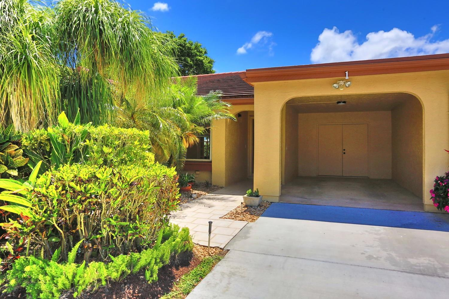 5920 Forest Grove Drive 1  Boynton Beach FL 33437