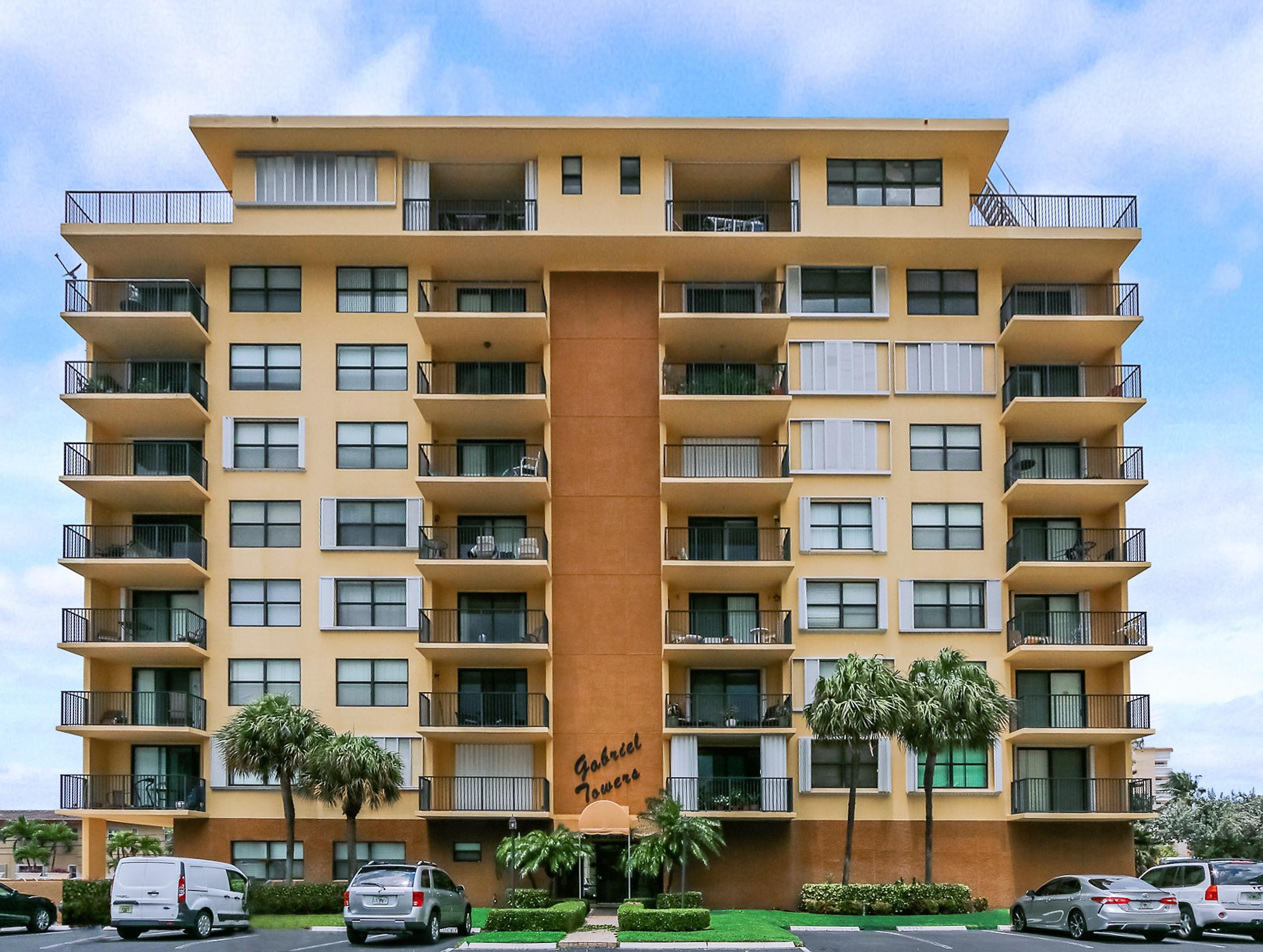 Home for sale in Gabriel Towers Pompano Beach Florida