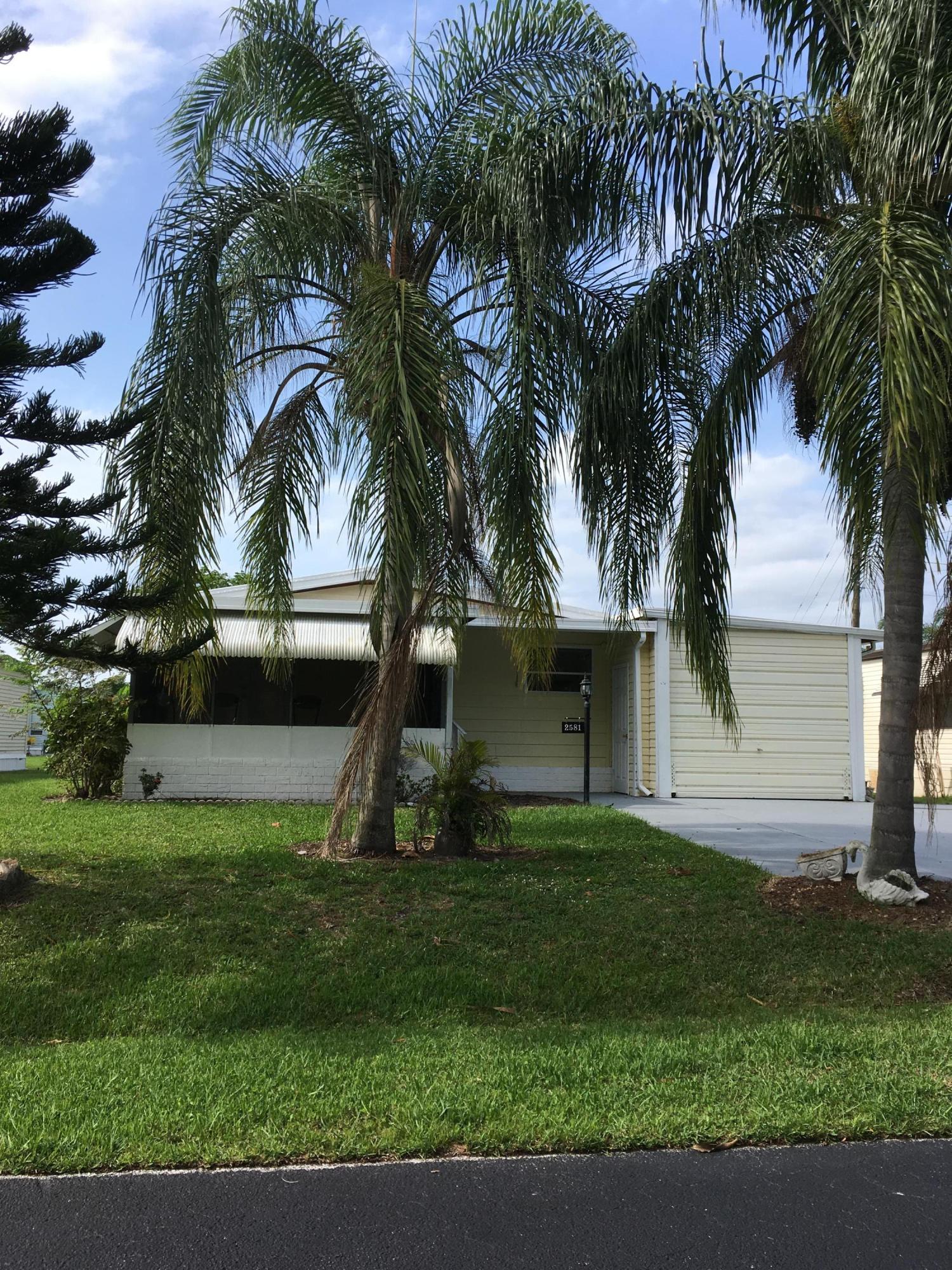 2581 Pontiac Place, Stuart, Florida 34997, 2 Bedrooms Bedrooms, ,2 BathroomsBathrooms,A,Mobile/manufactured,Pontiac,RX-10530783