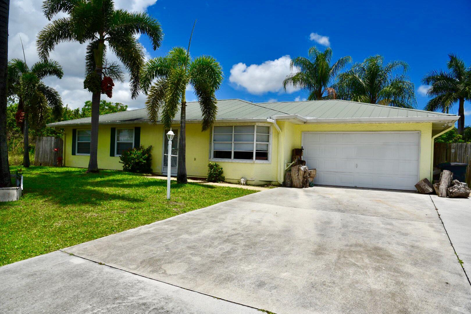 Home for sale in Swan Park Port Saint Lucie Florida