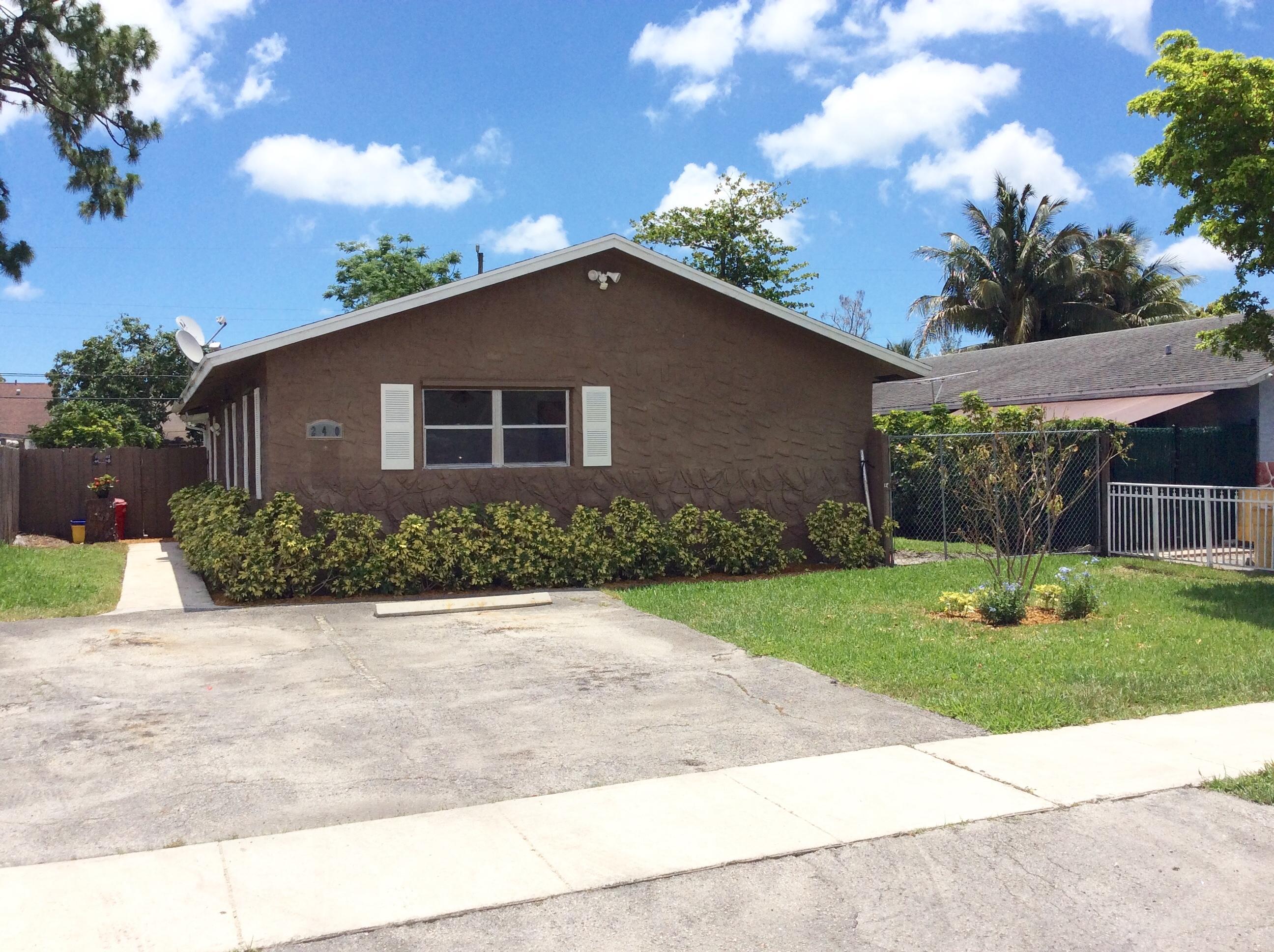 240 Fleming Avenue - Greenacres, Florida