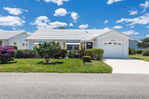 Boynton Leisureville home 2113 SW 22nd Court Boynton Beach FL 33426
