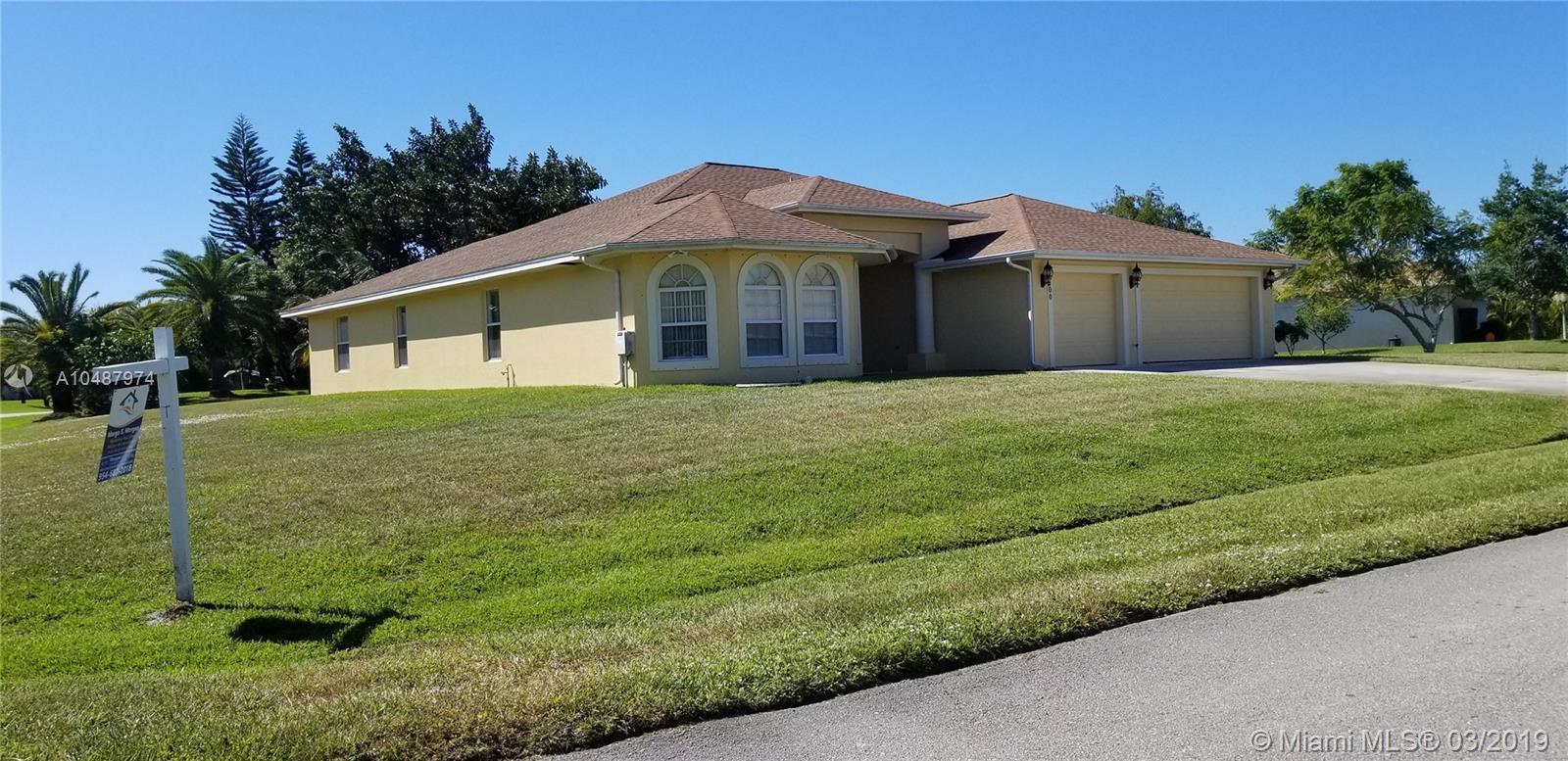 100 SW Lion Lane  Port Saint Lucie FL 34953