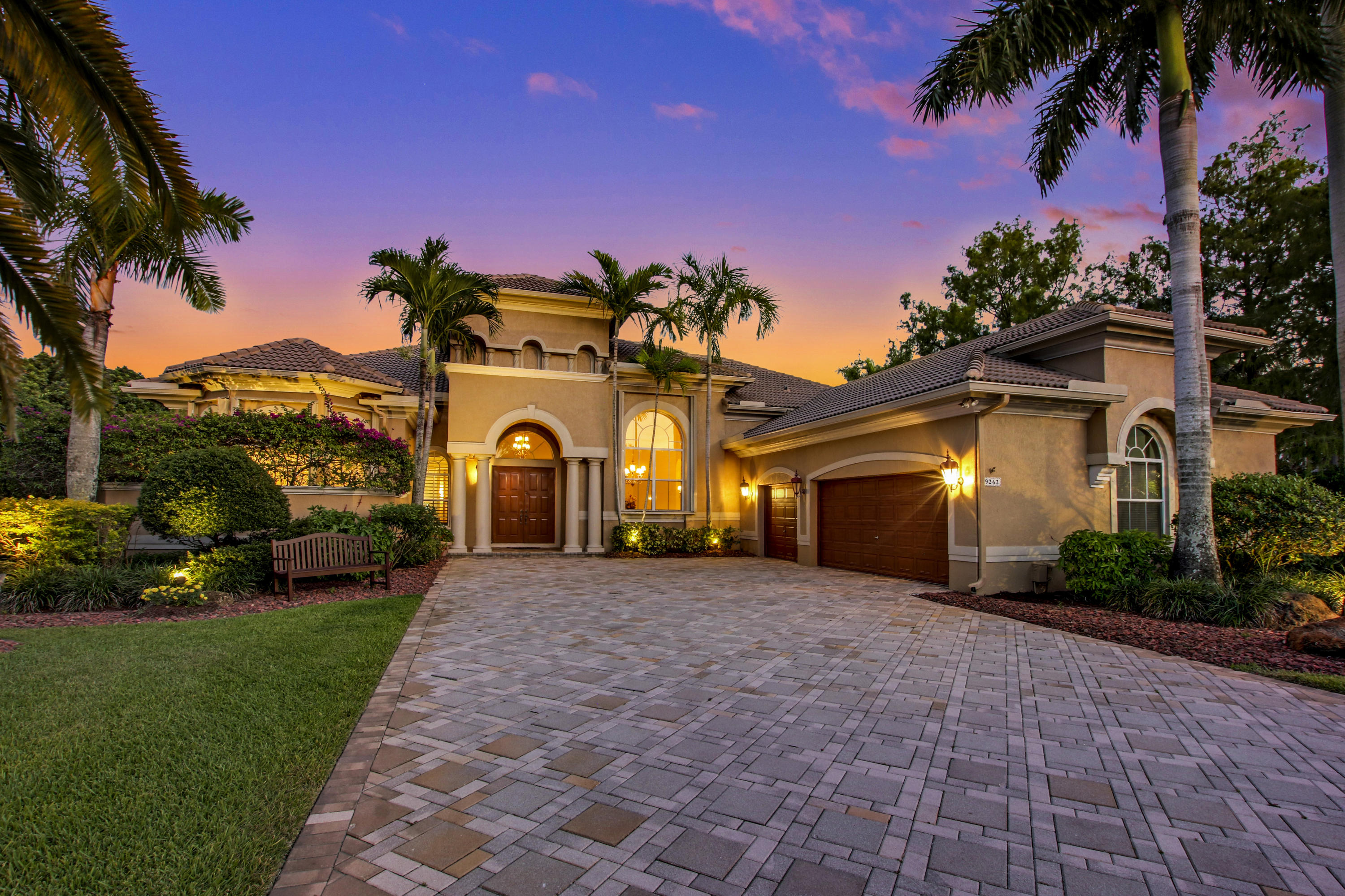 Photo of home for sale at 9262 63rd Court NW, Parkland FL