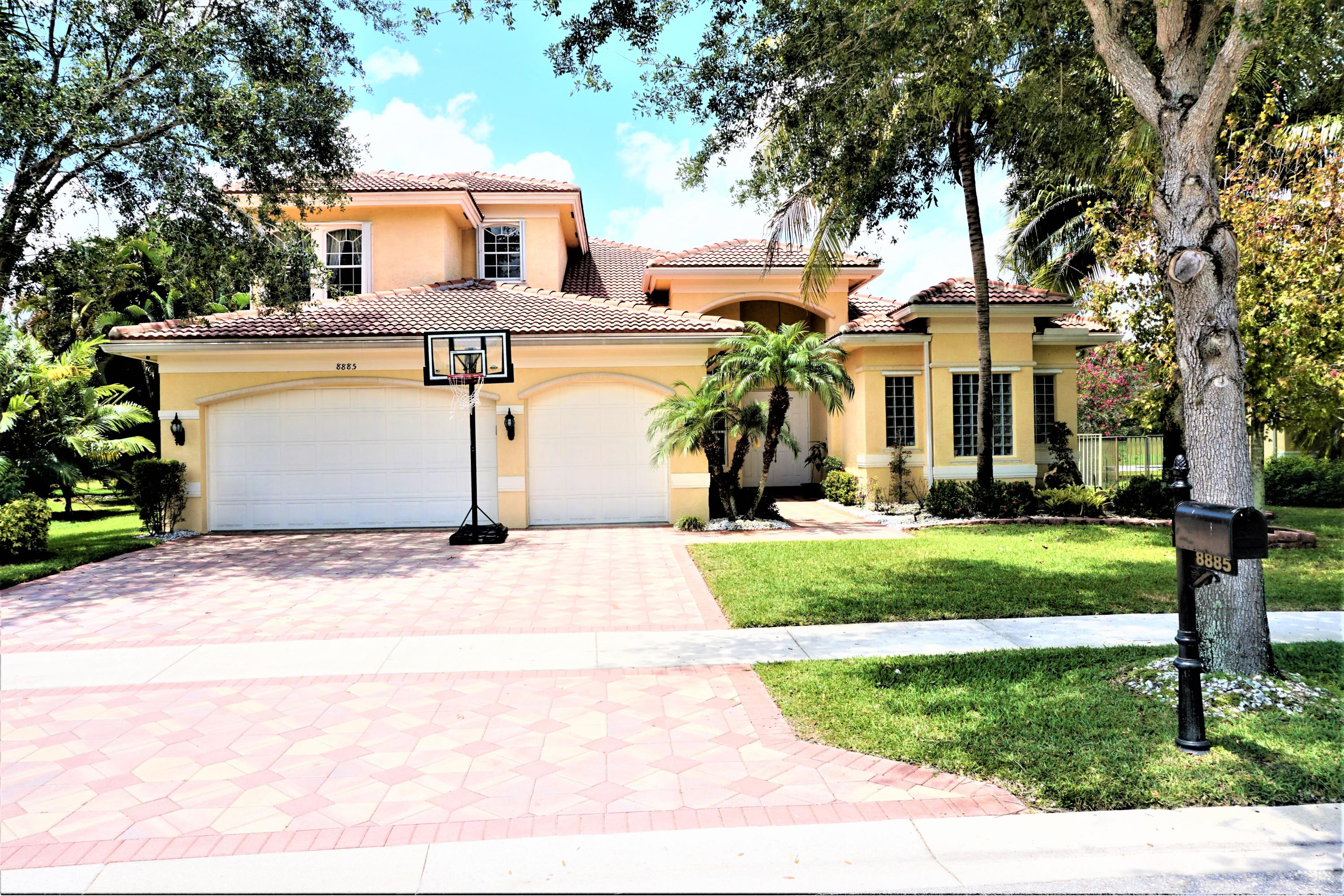 Home for sale in Canyon Springs Boynton Beach Florida