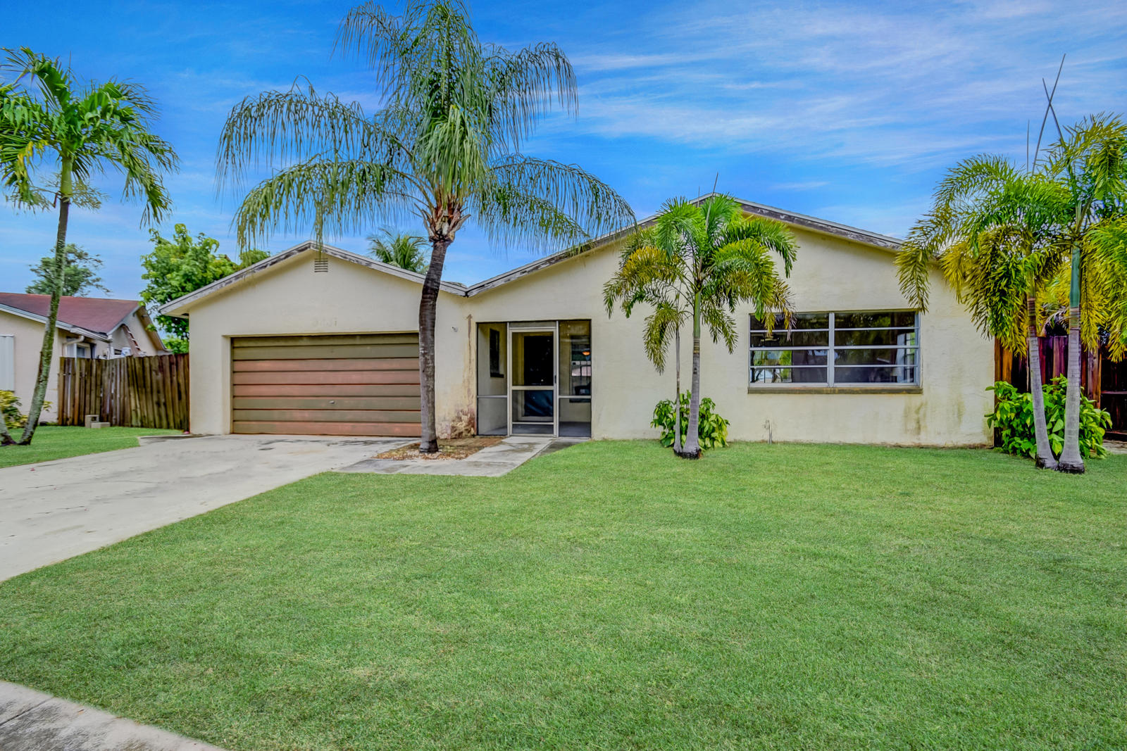 Photo of home for sale at 9231 16th Road SW, Boca Raton FL