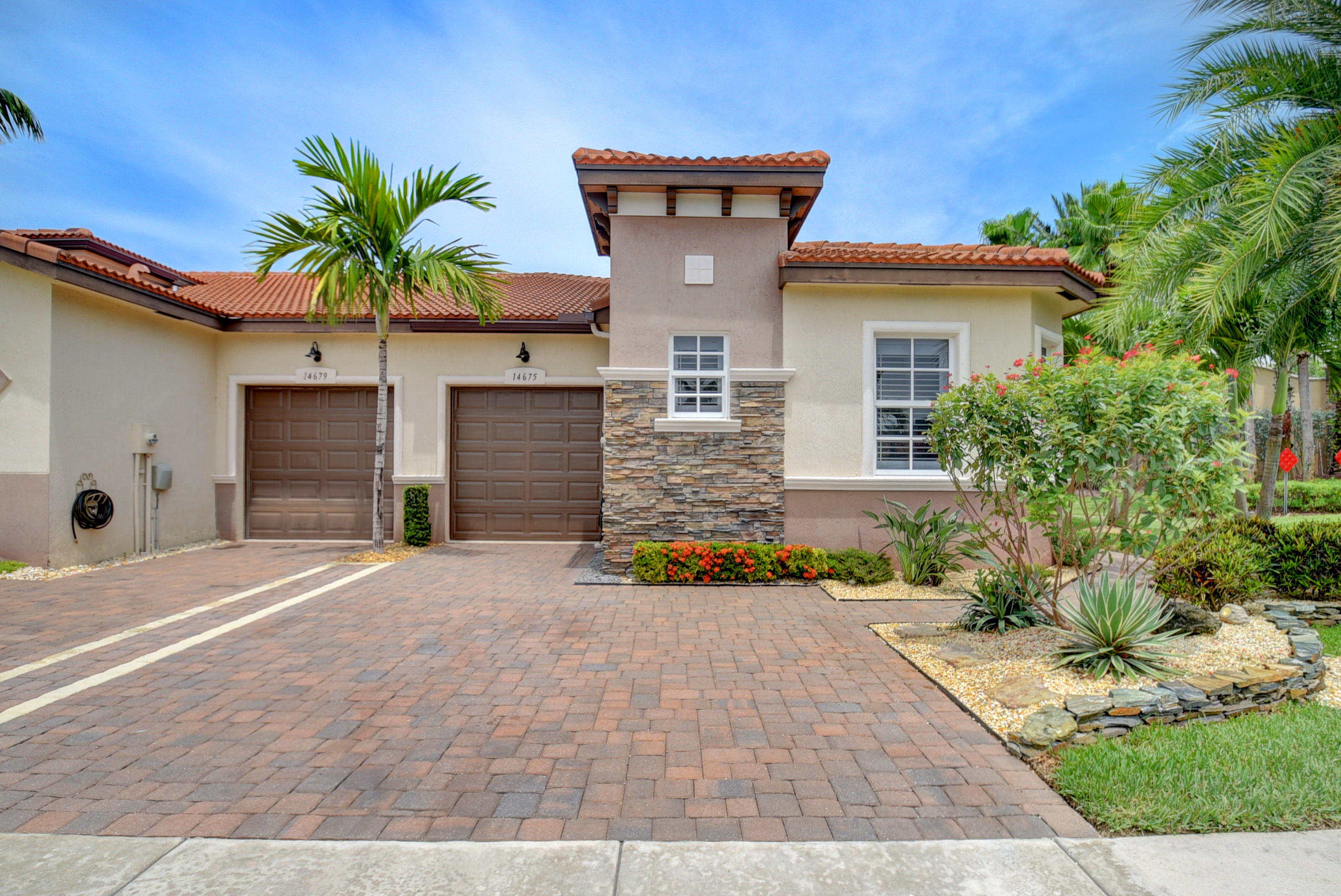 Photo of home for sale at 14675 Barletta Way, Delray Beach FL