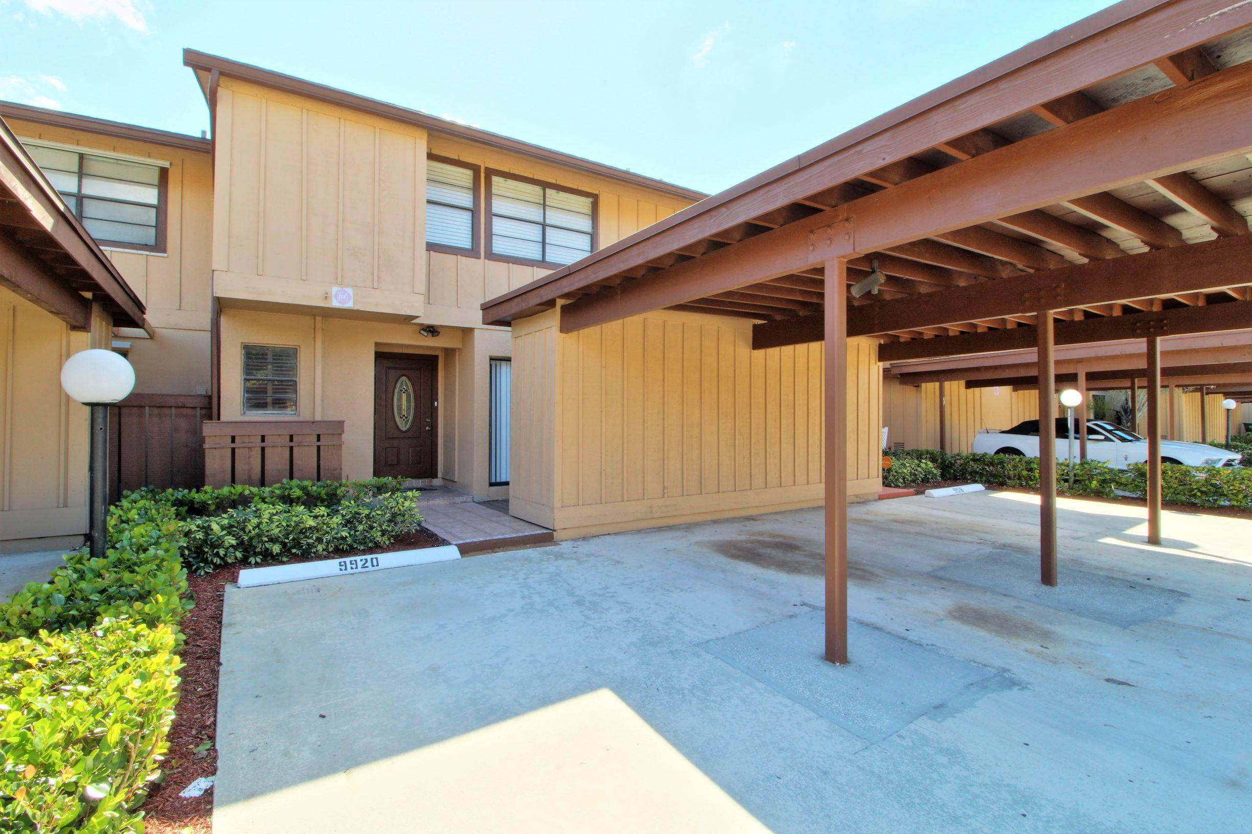 Photo of home for sale at 9920 Royal Palm Boulevard, Coral Springs FL