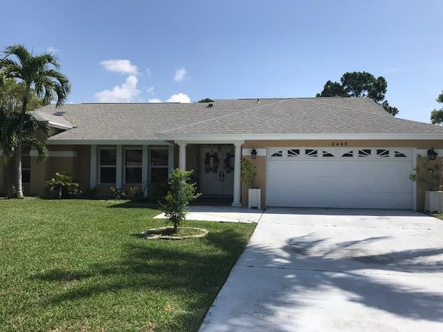 Photo of home for sale at 2495 Pascal Avenue SE, Port Saint Lucie FL