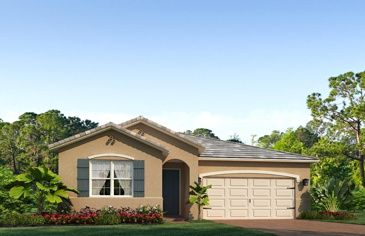 Photo of home for sale at 3480 Blackberry Lane SW, Palm City FL