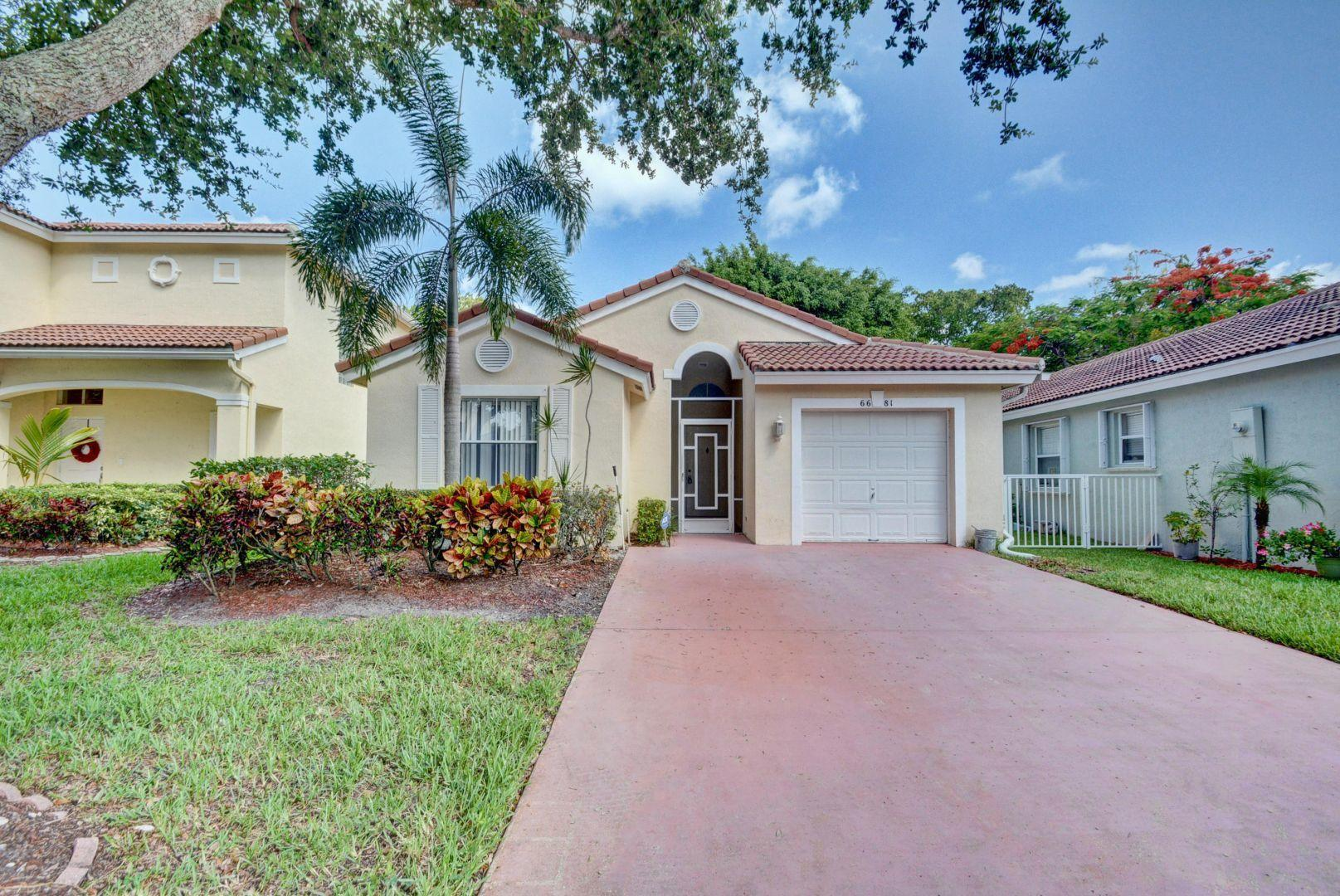 Home for sale in WINSTON TRAILS PAR 11 Lake Worth Florida