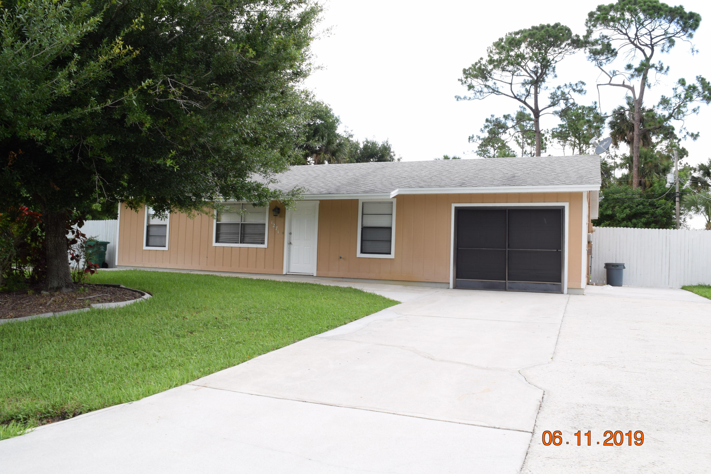 1271 SW Porter Road, Port Saint Lucie, Florida