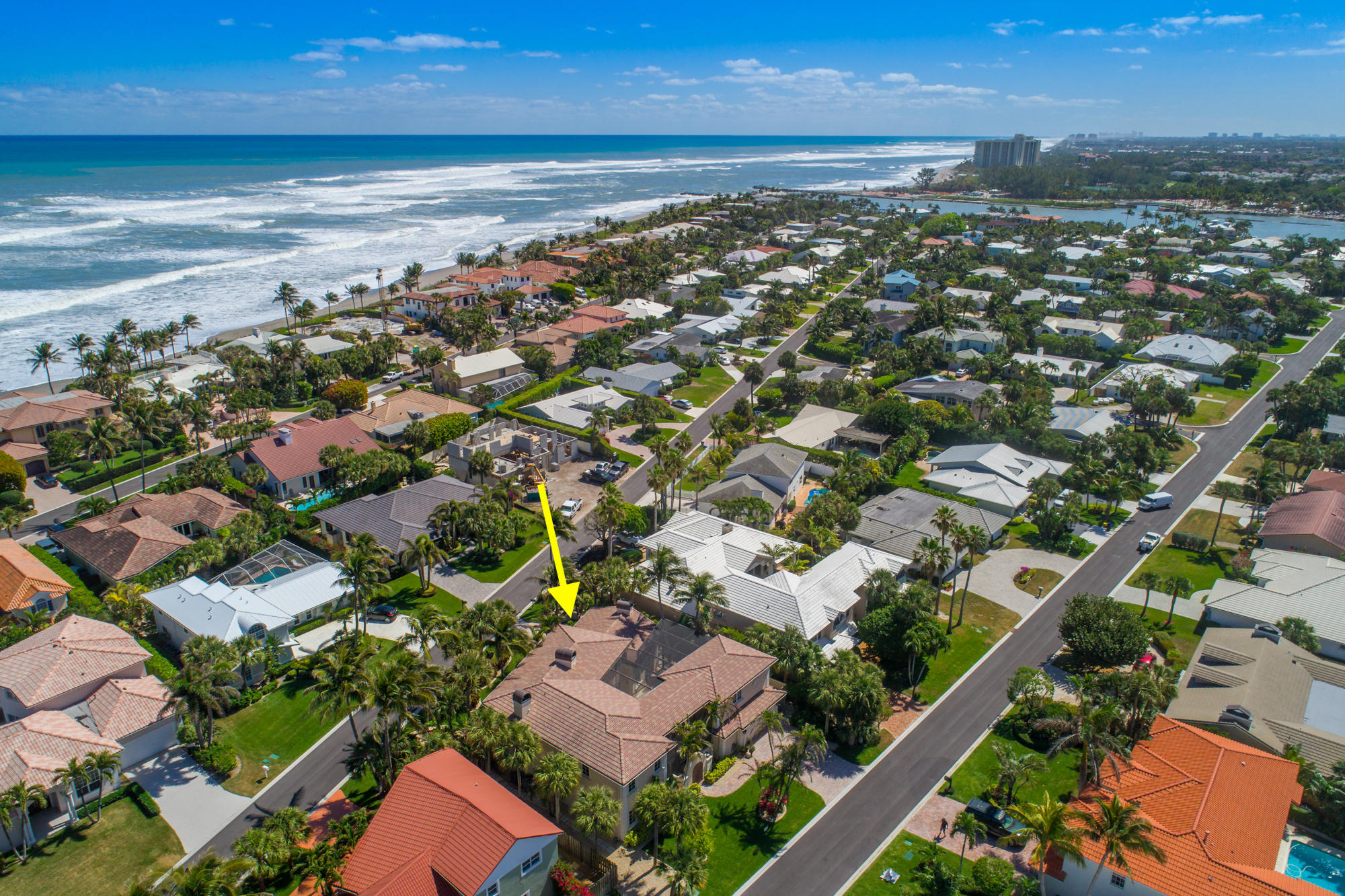 New Home for sale at 202 Colony Road in Jupiter Inlet Colony