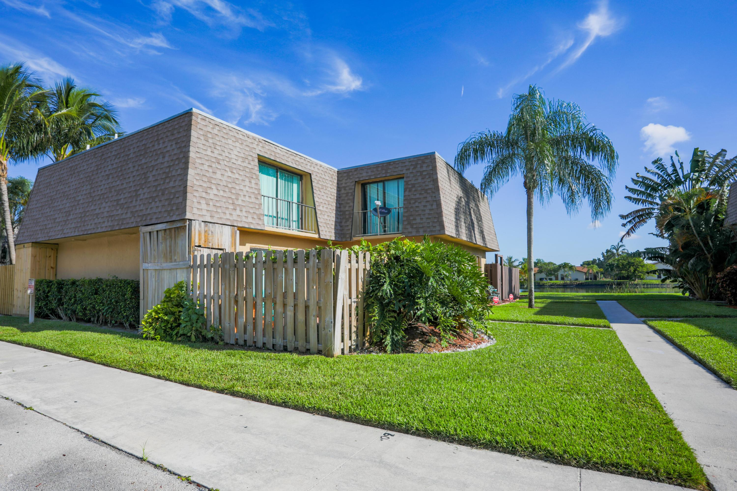 Home for sale in Waterview Estates Palm Springs Florida