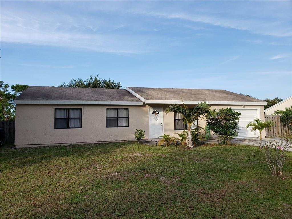 Home for sale in SOUTH PORT ST LUCIE UNIT 16 Port Saint Lucie Florida