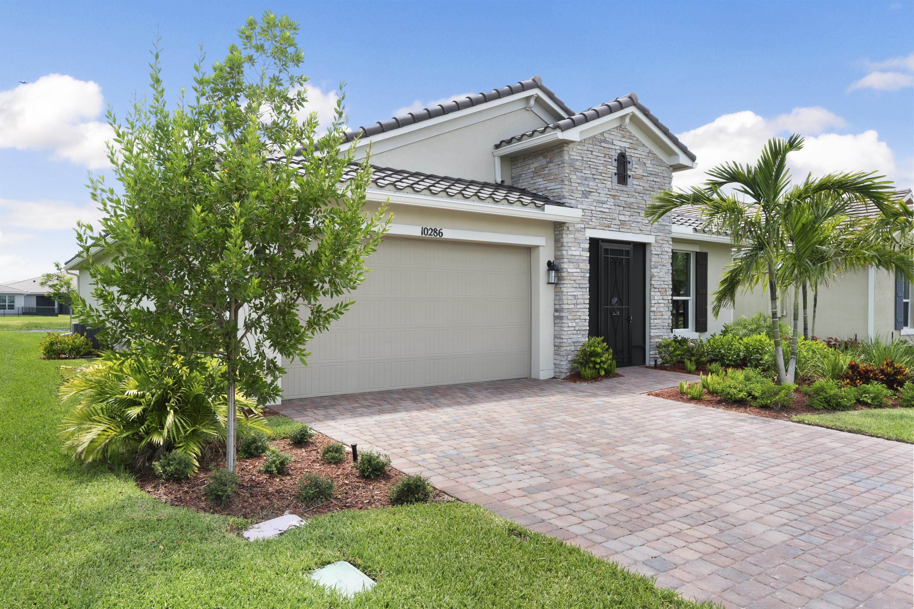 One of Port Saint Lucie 2 Bedroom Homes for Sale at 10286 SW Coral Tree Circle