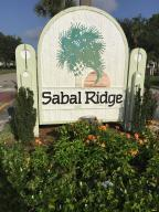 Sabal Ridge