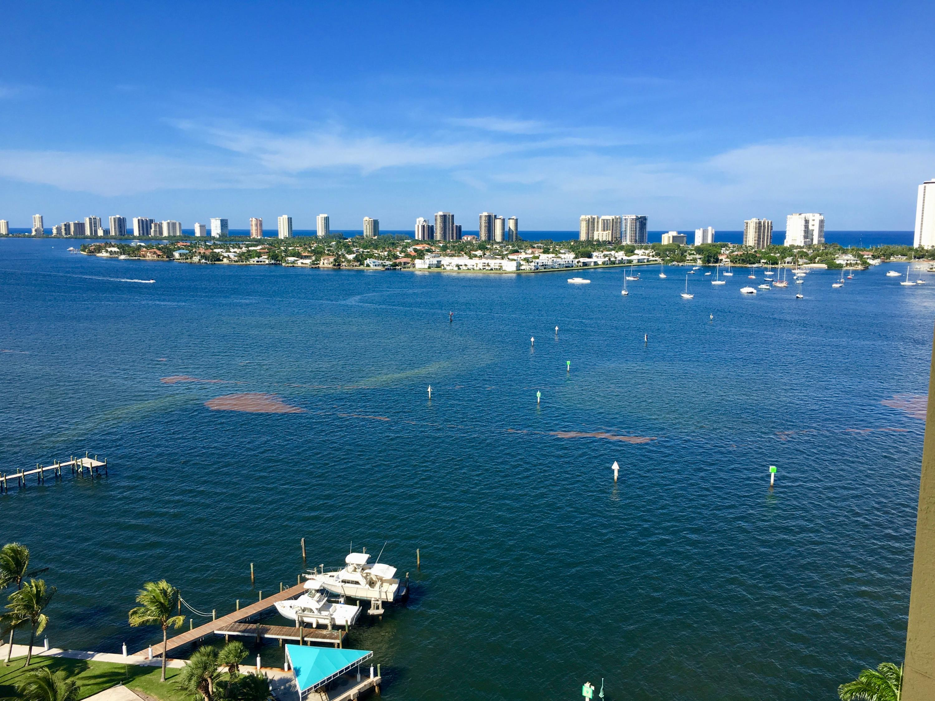 Photo of home for sale at 2650 Lake Shore Drive, Riviera Beach FL