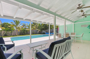 Live at the beach in this refreshed beach house with spacious back yard, large pool and highly sought after Southern exposure.  A short walk to the beautiful Palm Beach Inlet and inlet walkway to watch the boats and cruise ships go by, take a stroll, ride your bike or just relax under one of the shaded bench areas with water fountain for you as well as your furry friends.The Sailfish Marina/Restaurant is just down the street and the Town of Palm Beach Shores boasts one of the best beaches on the East Coast of Florida.  The beach is for town residents and offers plenty of parking, spacious community center, playground, nice walkway to the beach and large covered lanai for the times when youve had enough sun but still want to enjoy the beach.....