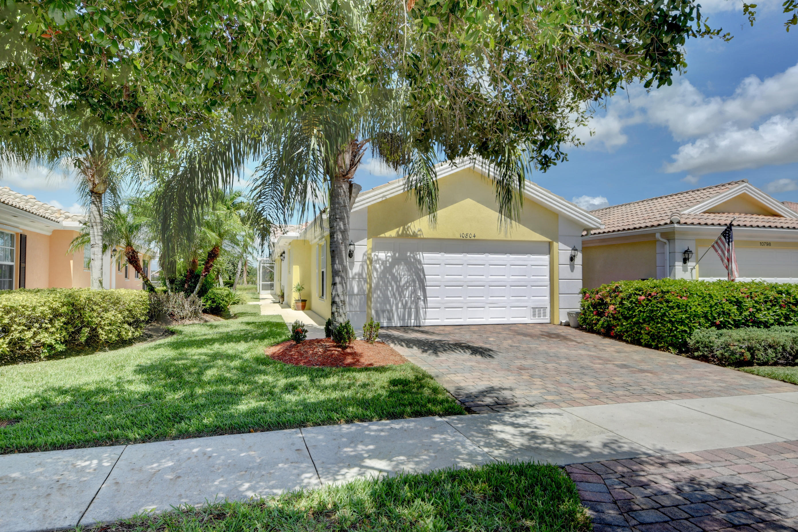 One of Port Saint Lucie 2 Bedroom Homes for Sale at 10804 SW Elsinore Drive