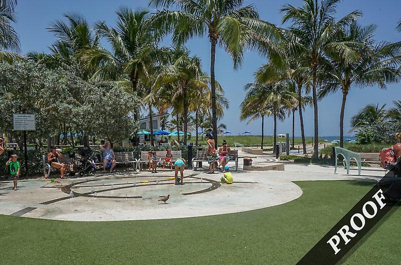 pompano Water playground