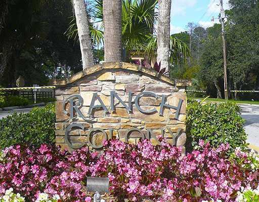 RANCH COLONY JUPITER FLORIDA