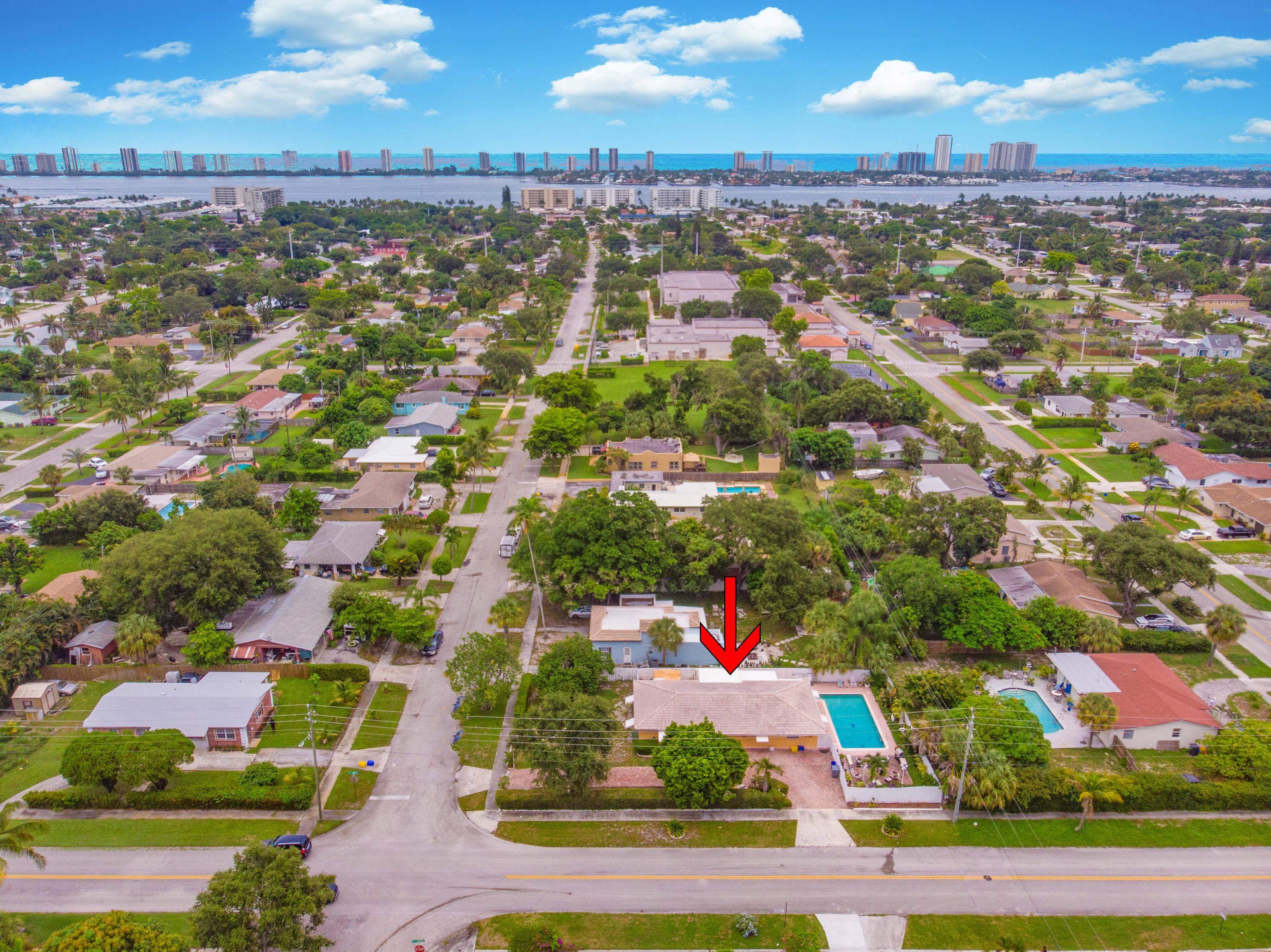 Home for sale in kelsey city in pb 8 pgs 15 to 18, 23, 27 & 34 to 37 inc Lake Park Florida