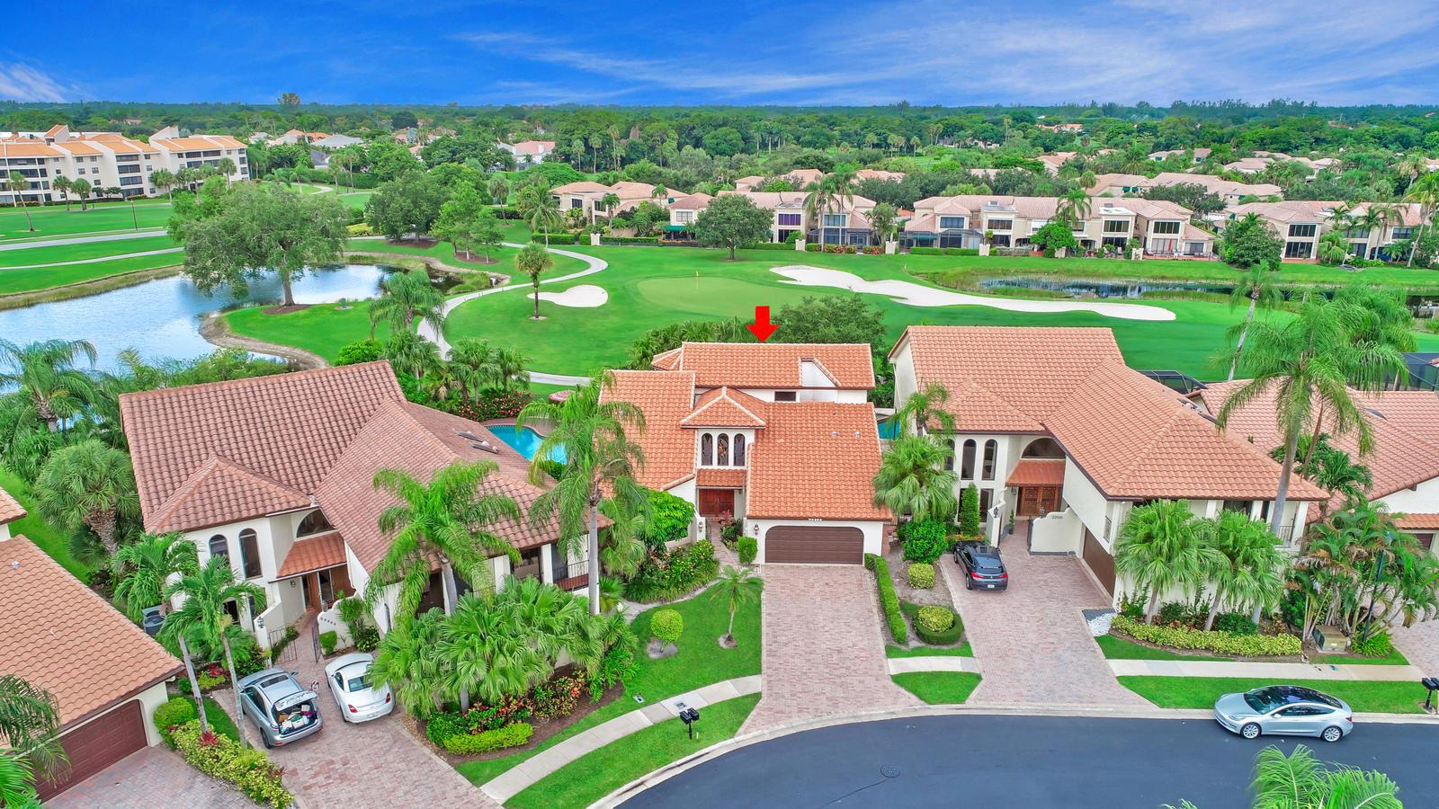 Home for sale in Boca Pointe,esplanada Boca Raton Florida