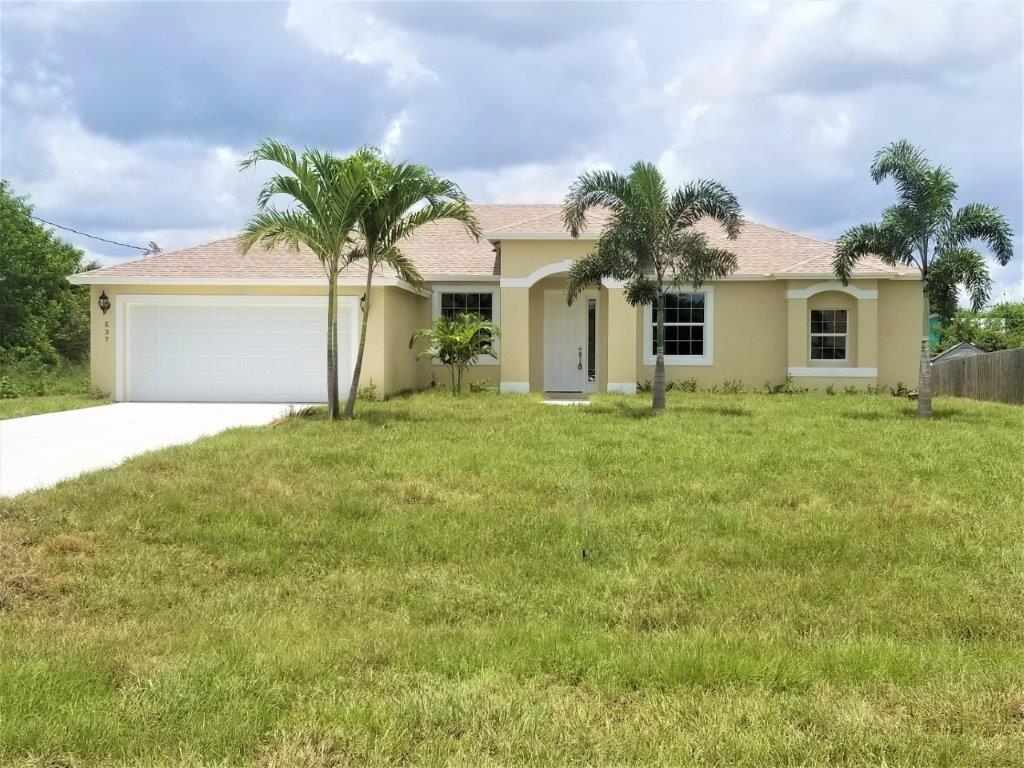 Photo of 537 SW Millard Drive, Port Saint Lucie, FL 34953