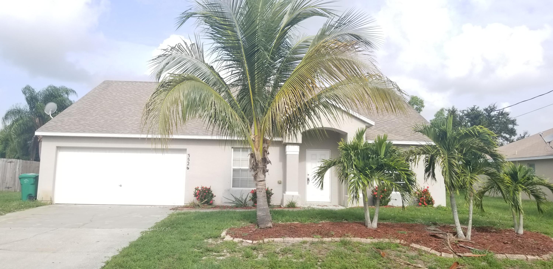 Photo of home for sale at 3526 Rosardo Street SW, Port Saint Lucie FL