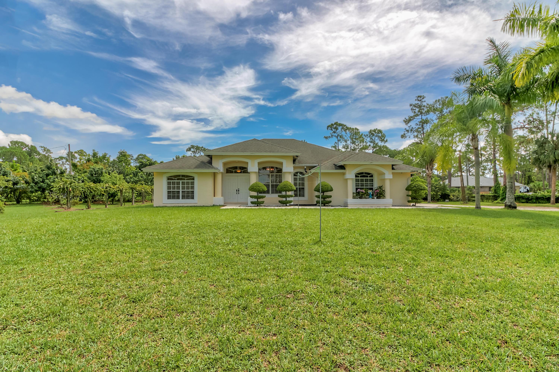 Home for sale in Acreage & Unrec The Acreage Florida