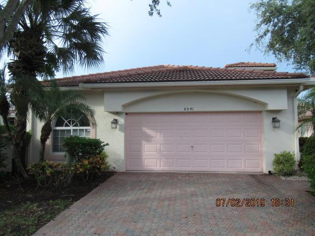 8041 Pisa Drive  Boynton Beach, FL 33472