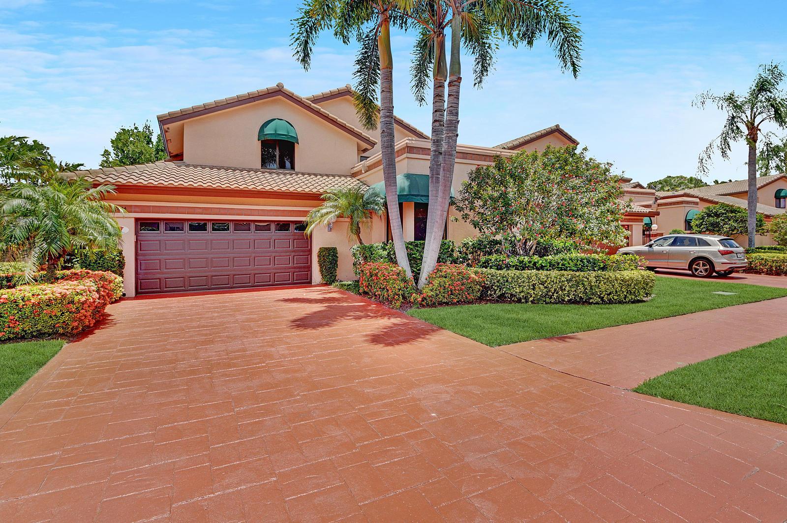 Home for sale in Boca Pointe,villa Flora Boca Raton Florida
