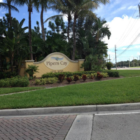 824 Pipers Cay Drive  West Palm Beach FL 33415